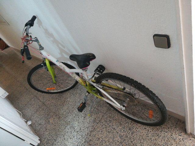 Bicicleta de Decathlon