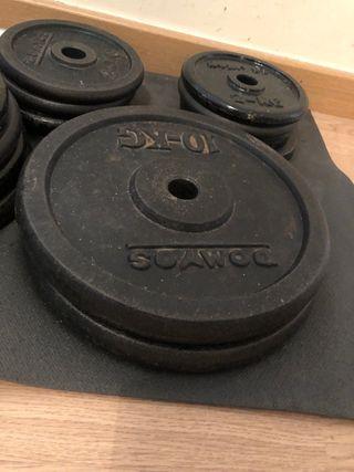 Discos 10kg