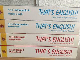 Curso básico e intermedio inglés