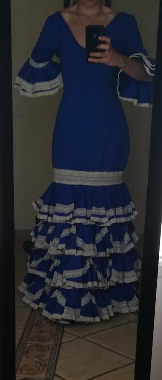 vestido traje de flamenca