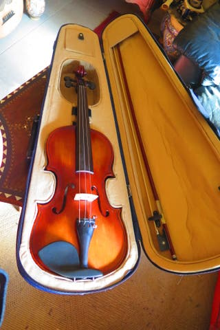 Impecable violín