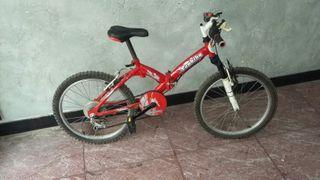 bicicleta 20 pulgadas niño plegable