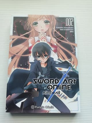 Manga Sword Art Online Aincraft 2/3