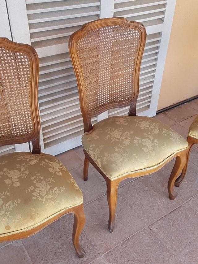 4 sillas salón comedor antiguas de segunda mano por 80 € en Tona en ...