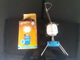 Lámpara camping gas