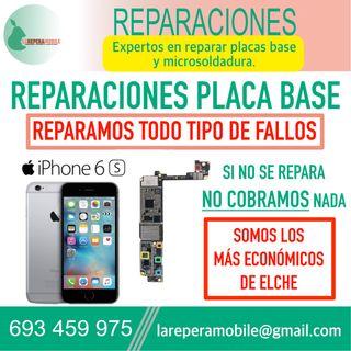 Reparacion iPhone placa base iPhone 6s