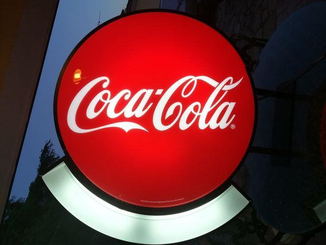 Luminoso Coca Cola / Rótulo luminoso