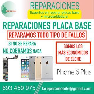 Reparacion iPhone placa base iPhone 6 plus
