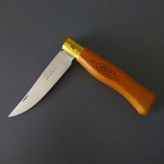 Navaja mango de madera hoja 9 cm MAM