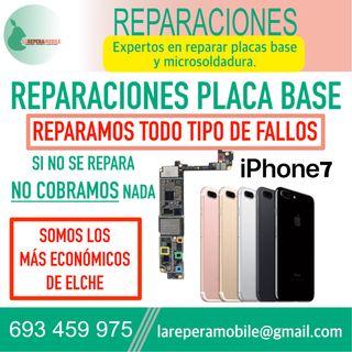 Reparacion iPhone placa base iPhone 7