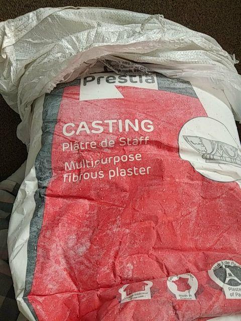 25kg of plaster of prais