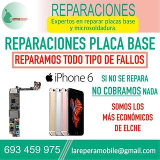 Reparacion iPhone placa base fallo placa iphone 6