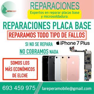 Reparacion iPhone placa base iPhone 7 plus