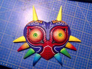 majoras mask del videojuego zelda
