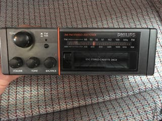 Radio clasica Philips Renault