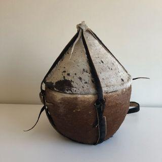 Cesto pequeño artesanía Etiopía