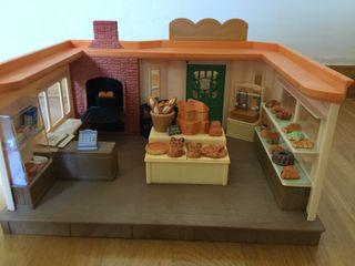 Panadería con horno de piedra. Sylvanian Families