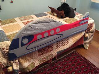 Barrera para cama de niño