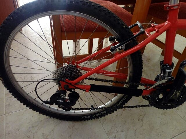 Bicicleta infantil 24 pulgadas