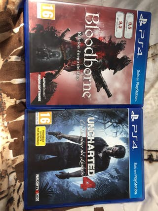 Dos videojuegos PS4