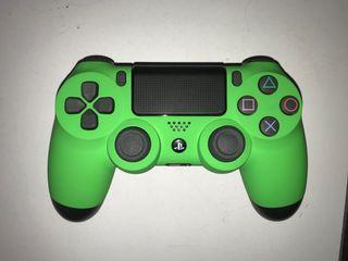 Mando ps4 Original nuevo con Frontal de color verd