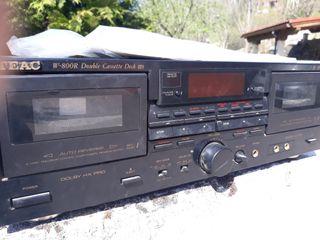 Pletina cassette doble TEAC dolby-pro