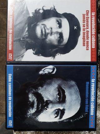 DVDs Revolución Cubana x4