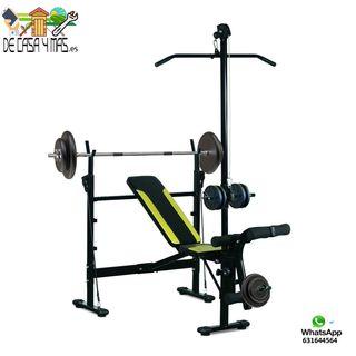 Banco de Pesas - Musculacion 175x110x202cm