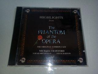 Cd El fantasma de la opera(precintado)