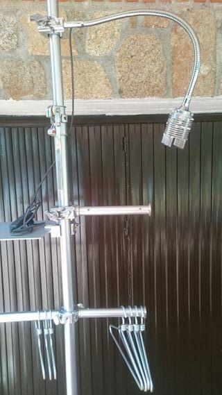2,Barras de aluminio para expositor de escápate...