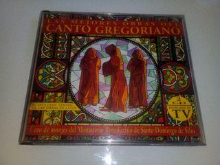 Doble cd Las mejores obras del canto gregoriano