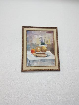 cuadro con marco 57 x 46