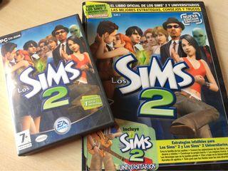 Videojuego Sims 2 con guia oficial