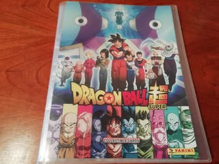 ALBUM DRAGON BALL SUPER COMPLETO