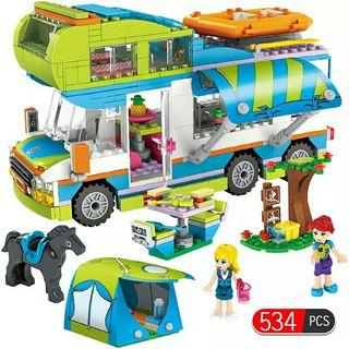 autocaravana tipo lego friends