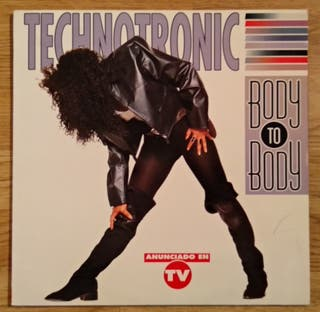 vinilo technotronic body to body