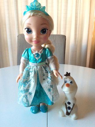 Elsa frozen canta y habla