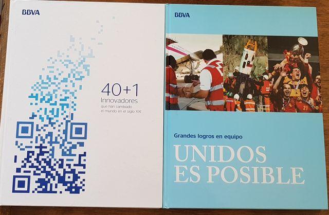 2 libros BBVA