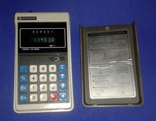 Calculadora Sanyo...