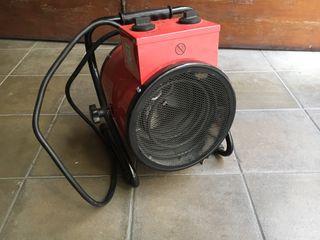Calefactor industrial pequeño