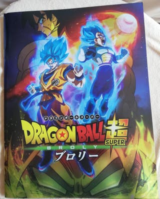 "Guía oficial ""Dragon Ball Super Broly"""