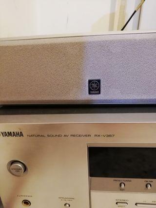 home cinema yamaha rx v357