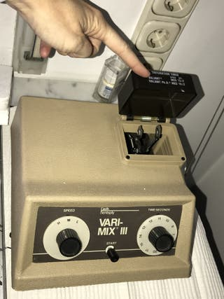 Mezcladoras de cápsulas