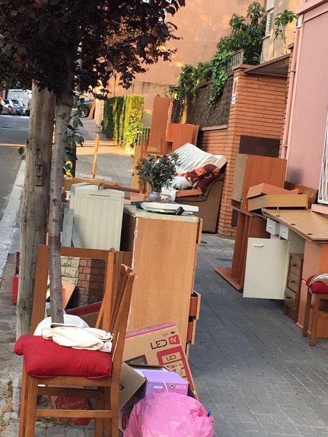vaciados y recogida de muebles