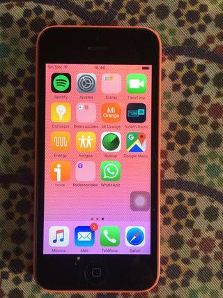 iPhone 5C Naranja 8 Gb Libre