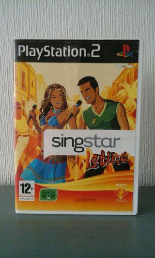 Videojuego SingStar Latino 2007 Para PS2