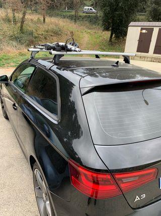 Baca coche Audi A3 y Portabicis Thule Proride 591