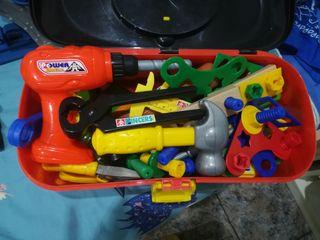 Caja herramientas Cars