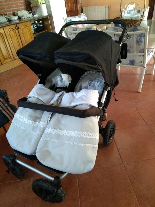 carro gemelar mountain buggy duet v3 2108