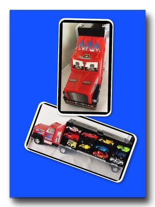 Gran Camión Maletin Porta coches. 186